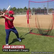 amazon com powernet xlp pro baseball softball 8 ft x 8 ft