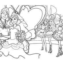 barbie u0027s friends princess graciella coloring pages hellokids