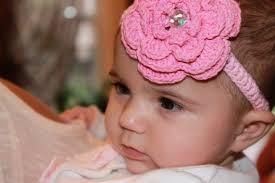 flower headband crochet flower headband baby your baby boutique