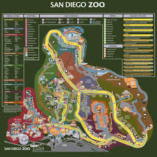 San Diego Downtown Map by My Collection Of Vintage San Diego Zoo Maps Sandiego