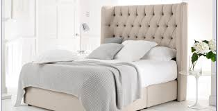 Tufted King Bed Frame Bed Fabric Bed Frame Melbourne Fabric King