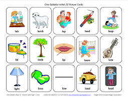 Printable Cvc Worksheets Testy Yet Trying Initial L Free Speech Therapy Articulation