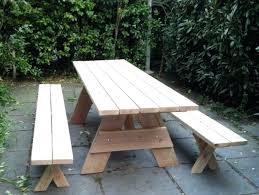 8 foot picnic table plans stunning table cover padded bench cushions direcsource ltd 69050
