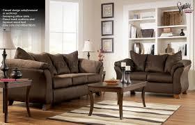 Ashley Furniture Leather Loveseat Cafe Microfiber Stylish Sofa U0026 Loveseat Set By Ashley Design