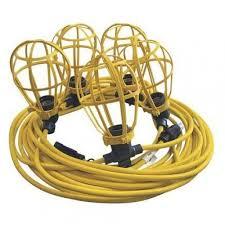 temporary string lighting system 50 ft