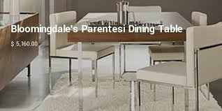 Bloomingdales Dining Chairs 10 Most Expensive Dining Room Tables List Successstory
