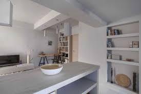 cuisine blanche mur framboise cuisine blanche mur framboise gallery of cuisine mur de brique