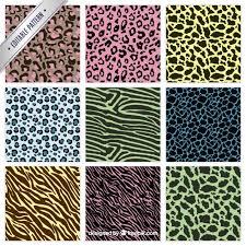 zebra pattern free download colorful animal prints patterns vector free download