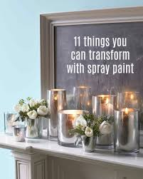 11 things we totally transformed with spray paint spray painting