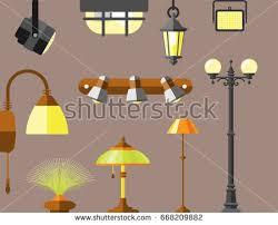 Flat Light Bulb Flat Light Bulb Vector Collection Download Free Vector Art