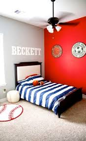 Youth Football Bedroom Rachelle Chase Blog Barcelona Soccer Bedroom Before And After