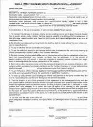 idaho monthly rental agreement free download