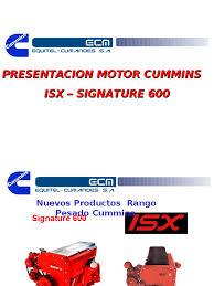 motor isx