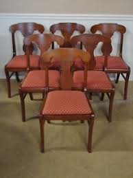 pennsylvania house cherry spindle back dining room chairs set of 6