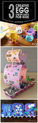 3 creative egg carton crafts for preschoolers and kids crafts