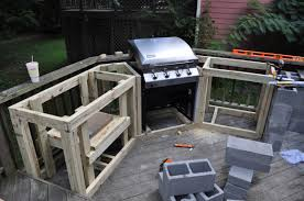 diy outdoor kitchen island best diy outdoor kitchen ideas trends build your own images
