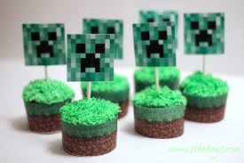 minecraft cupcakes minecraft birthday party ideas vs the boys