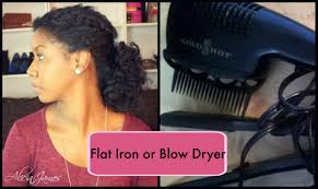 black n gold hair dryer flat iron vs blow dryer naturalhair youtube