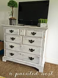 bedroom entertainment dresser white antiqued and distressed 4 drawer dresser this is perfect