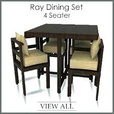 glass top dining table set 4 chairs dining table set 4 seater glass top dining table 4 chairs set glass