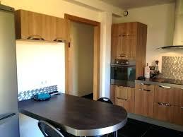 plan table de cuisine table de cuisine avec plan travail haute phenomenal 06300545 photo x