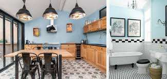 cuisine mur bleu colour combinations with sky blue in interiors bnbstaging le