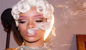 short white hair rihanna new look short white hair and dyed her purple eyebrow