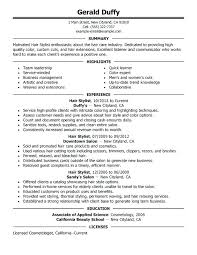Resume Template For Medical Receptionist Resume Sample For Receptionist Position Unforgettable Hair Stylist