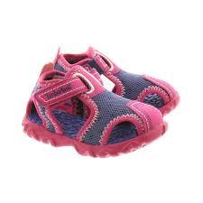 timberland kids splashtown closed sandals in purple in purple