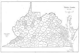 map of virginia counties virginia in maps 1634 1895