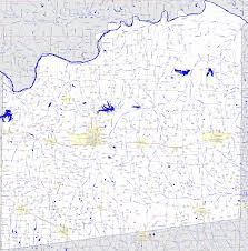 Tx County Map Bridgehunter Com Fannin County Texas