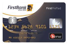 bank prepaid debit cards verve prepaid card