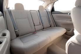 nissan sentra interior 2009 2014 nissan sentra sl rear seats photo 65142059 automotive com