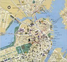 boston tourist map boston tourist map boston mappery