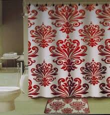Burgandy Shower Curtain Curtain Latest Designs Of Shower Curtains And Best Trends