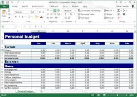 Financial Planning Templates Excel Free Free Personal Budget Planner Template For Excel