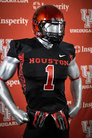 2013 houston cougars black halloween nike uniform uniform