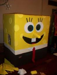 Spongebob Squarepants Halloween Costume Homemade Halloween Diy Spongebob Squarepants Costume Box
