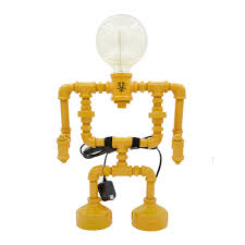 large robot touch table lamp