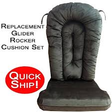 replacement glider rocking chair cushions custom chair cushions