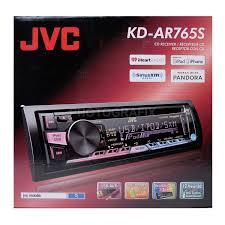 jvc home theater receiver jvc kd ar765s single din in dash cd am fm car audio receiver