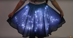 this skirt can light up and make you feel utterly magical so bad
