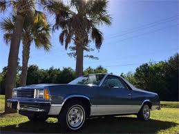 New Chevrolet El Camino 1981 Chevrolet El Camino For Sale On Classiccars Com 8 Available