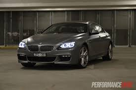 bmw headlights at night 2013 bmw 650i gran coupe review video performancedrive