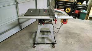 craftsman 10 portable table saw noted craftsman table saw 315 228390 for sale craigslist ad youtube
