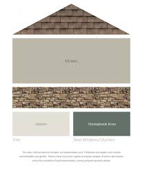 how to coordinate paint colors fresh color palettes for a brown roof