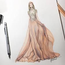 gallery dress sketch designs drawing art gallery