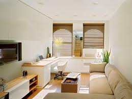 500 Square Feet Room Apartment Modern Room Space With Modern Working Desk Fit With