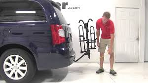 review of the prorack platform style hitch bike rack on a 2014
