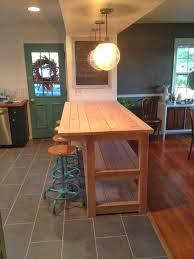 how to build a kitchen island with seating my industrial look kitchen island and that time i messed up